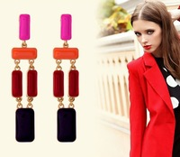 E009 personalized elegant drip earrings female  2013 jewelry wholesale   TN-4.99 50D  abc