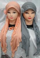 Fashion hijab bandanas divisa cap scarf