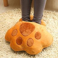 Multifunctional heater usb warm feet treasure electric heating foot warmer plug in warm feet shoes pillow
