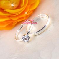 Wedding ring bride rhinestone ring wedding ring lovers ring