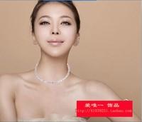 Rhinestone necklace collar the bride necklace rhinestone necklace the bride the bride accessories 3001 - 2