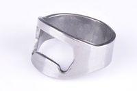 Free Shipping 150pcs/lot  Stainless Steel Beer Bar Tool Finger Ring Bottle Opener