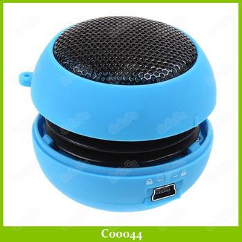 Super Mini HIFI USB Mp3 Stereo Speaker Music Player Amplifier loudspeaker 30PCS/LOT