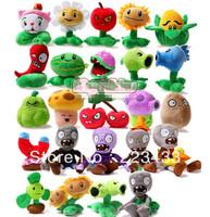 M'lele wholeseale Plants vs Zombies stuffed plush toys 20pieces=1 set  MINI Soft Plush Toy Doll Christmas gifts