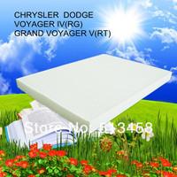 CU3142 wholesale handmade white fiber car cabin air filter for Chrysler 82205905 auto part 31*23.5*2.2cm WIX24864