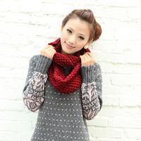 Free shipping / hot sale / Chromophous 2013 simple corn knitted muffler scarf women's scarf yarn scarf muffler
