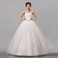 2013 Newest Arrive Design Boutique Bride Wedding Dress/ Bridal Gown Free Shipping!
