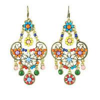 Free shipping Vintage Bohemia Drop Earrings Fashion Tassels Jewelry Wholesale Quality Guaranteed V-E1251