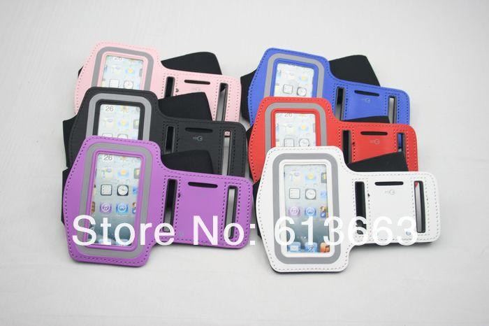 100pcs/lot Protector Sport Running Armband Arm band Case Cover For iPod Nano 7 7G(China (Mainland))