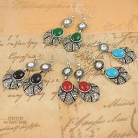 Free shipping Vintage Bohemia Drop Earrings Fashion Jewelry Wholesale Quality Guaranteed V-E1236
