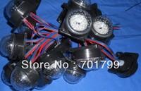 DC12V 6pcs SMD 5050 RGB full color WS2811 led pixel wall light;50mm diamter cover,60mm diameter base