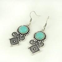 Free shipping Vintage Bohemia Drop Earrings Fashion Jewelry Wholesale Quality Guaranteed V-E1227