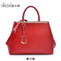 Italian Cashin 2013 new handbag Ms. blue leather handbag Europe and America OL career commuter bag 2033
