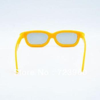 Children 3D polarized glasses random color with Glasses case