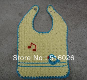 wholesale Handmade Crochet Baby bibs kids aprons Newborn Gift 5pcs/lot