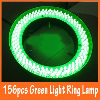 156pcs Ajuatable Green Light Stereo Microscope Illuminated LED Ring Bulb Lamp Allowed 110V-220V with Inner Diameter 81mm