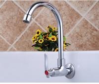 Wall single cold kitchen faucet single hole single pots vegetables