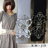 2014 new fashion ladies Cutout belt bow women's decoration belt female elastic wide cummerbund for girl