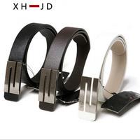 women Leather belt 2014 Genuine leather strap PU belt piece set metal women's belt thin belt women's brands Free shipping