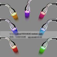 Colorful led shower nozzle light shower bathroom top spray shower nozzle small top spray 10-a 5