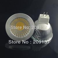 4pcs/lot Hot Sale 5W COB LED Bulbs Super Bright MR16 LED Spotlight Lamp GU5.3 12V AC/DC , Free Shipping