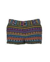 Fashion single san souci national trend multicolour blending knitted cotton four seasons low-waist woman short summer short sale