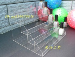 5420 nail polish oil rack lipstick holder cosmetics acrylic display rack display rack(China (Mainland))