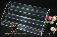 Nail polish oil rack plaid pavans cosmetics rack display rack acrylic frame organic glass frame 12018
