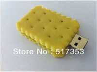 Sweet and delicious biscuits version of creative cartoon USB FLASH 2.0