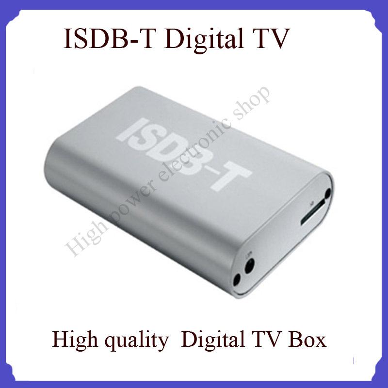 car digital TV and antenna ISDB-T High Definition Digital TV Receiver Box set top for all car(China (Mainland))