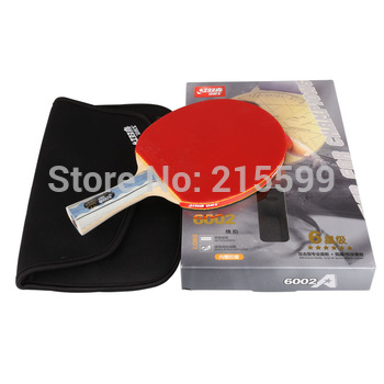 original DHS X6002 6 STARS.shake-hands grip.double Happiness sports,finished product Table Tennis Rackets
