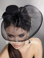 2013 sweetday  sinamay fascinator hats good bridal wedding hats high quality cocktail hat Very nice