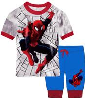 wholesale free shipping boys clothing Altman set(short sleeve t-shirt+ pants) ,superman baby clothes set 6sets/lot SV-24