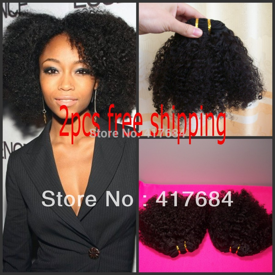 cheap high quality queen hair extensions afro kinky curly mongolian vrigin hair for african american(China (Mainland))