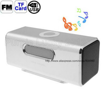 30PCS Best selling angel CX-A09 Dual-speaker Audio with FM Radio and LED Screen, Support TF Card / USB Drive Mini Speaker