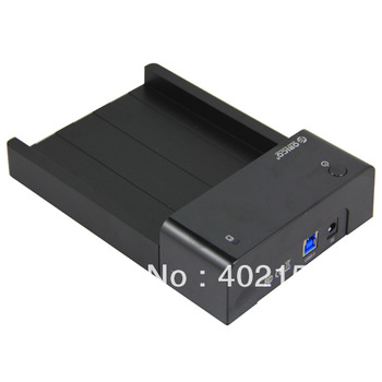 "ORICO 6518US3 USB3.0 3.5"" SATA HDD Docking Station Mobile Hard Drive Base Brand New Wholesale,Free Shipping,#160460"
