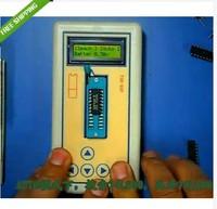 Freeshipping  Transistor Tester Detect IC Tester Meter Maintenance Tester MOS PNP NPN