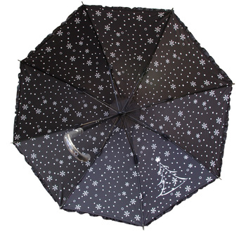 Black rhino black rhinoceros christmas tree choula small umbrella uv vinyl umbrella