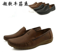 Free shipping,Day-to-day, casual, business, soft bottom, set foot ,drive, leather, men's shoes