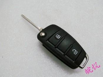 Friendly folding key blanks remote control