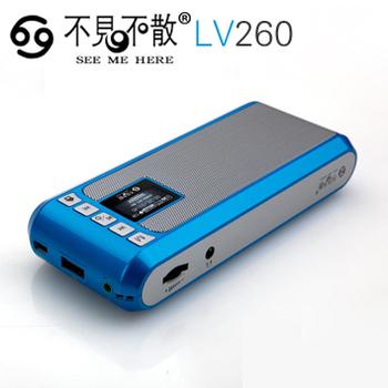 Lv260 mini portable card small speaker tf card usb flash drive fm radio usb sound card