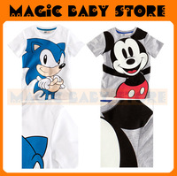 wholesale cartton T-shirt /short sleeve shirt /children's clothing/children's tiger clothing