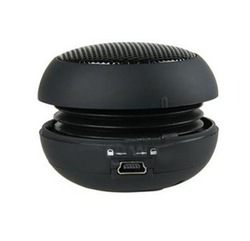 5pcs/1lot Free Shipping , Mini Hamburger Portable Speaker(China (Mainland))