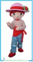 2013 Newest strawberry mascot costumes cartoon costume adult cartoon costume Free Shipping