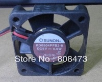 KD0504PFB2-8 5V 0.6W 4CM 4010 fans in a switch chassis fan