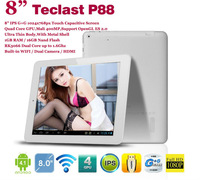 "Free shipping! IPS 1024x768 1GB RAM Dual Core Teclast P88 tablet 8"" multi touch capacitive RK3066 16GB ROM Mai 400MP Camera HDMI"
