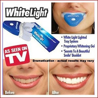 Free shipping Dental Tooth Whitener Whitelight Tooth Whitening System Ionic Teeth as seen on TV