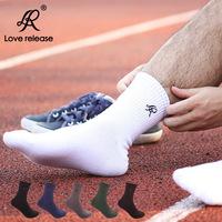 Wholesale hot sale men sports socks! male sports socks pure cotton wicking sports socks! 10 pairs/ lot
