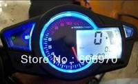 """Motorcycle LCD Digital Speedometer tachometer KOSO motorcycle Instruments 10""""-21"""""""