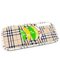 Car sun-shading board cover multifunctional cd bag car cd bags cd storage beige plaid(China (Mainland))